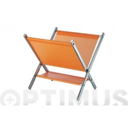 REVISTERO PLEGABLE NARANJA