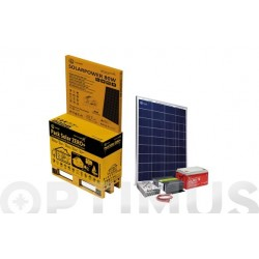PACK SOLAR ZERO 70AH + 4001...