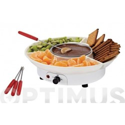 SET FONDUE CHOCOLATE ELECTRICA