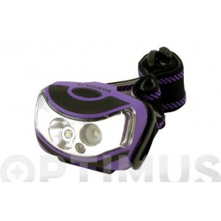 LINTERNA FRONTAL 2X1W LED...